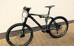 """Cube AMS 130 HPA Pro 27,5 (2015) 20"""" inkl. RS Reverb Stealth"""