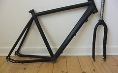 Müsing Twinroad Lite R Aluahmen & Alugabel Disc only, Gravelbike