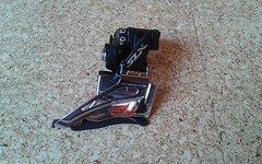 Shimano SLX FD-M7025 Umwerfer Schelle hoch 2x11 Down Swing Schwarz NEU