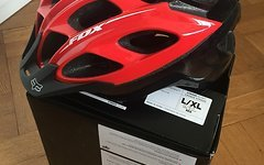Fox Striker Helm Red NEU L/XL