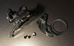 Shimano XT E-Type Umwerfer 2 bzw. 3 fach inkl. Halteblech