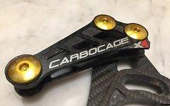 Carbocage X1 Kettenführung Bashguard Schlagschutz Carbon 28/30T ISCG5
