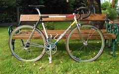 Gianni Motta Rennrad Stahlrahmen 80ger Jahre, RH 56 cm