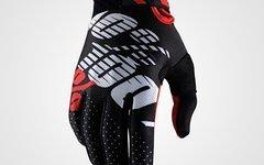 100% Racing Ridefit Gloves rot schwarz XL