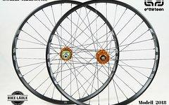 """E*thirteen Lg1+ Modell 2018 33,5 / 30mm Laufradsatz 27,5"""" mit Hope Pro 4 Evo Naben / Bike-Lädle"""