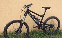 "Canyon Torque FR ""Custom-Aufbau"" Gr. M Enduro-Komplettbike mit Syntace W35MX und kompl. XT-Gruppe"