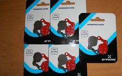 Btwin 5 Paar Disc Bremsbeläge für Louise Marta BFO Julie HP