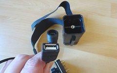 Solarstorm 2S2P 18650 Battery Case + USB  -  BLACK