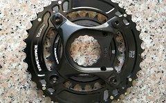 Race Face Turbine Kettenblattset 38/24 Zähne inkl. Spider Chinch