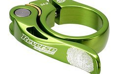 Reverse Components Sattelschelle LONG LIFE Ø34.9 Light-Green Seatclamp with brass washer- LONG LIFE clamp, 46g