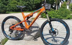 Rocky Mountain Altitude 750 MSL Carbon Rally Edition Gr. L