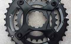 SRAM GX 1400 2-fach Spider GXP mit X-Glide Kettenblatt 36 und 24 Zähnen