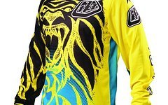 Troy Lee Designs GP AIR JERSEY Trikot LION YELLOW - XL