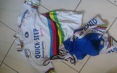 Vermarc Quick Step WM Kit Tom Boonen L/M