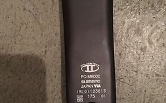 Shimano XT FC-M8000-2 Kurbelgarnitur 26/36-Fach - 175 mm