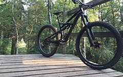 Specialized Knaller: Enduro Sworks 29, Cane Creek DB CS, Pike, DT Swiss / Carbon LRS: Wochenendangebot