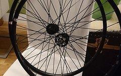 Soul Kozak Custom Laufradsatz, 26 Zoll Disc Tubular 1281g - € 230,-