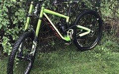 Scott Gambler 720 2016 Gr. L custom