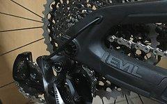SRAM Eagle X01 Schaltwerk, Kassette, Kette und Trigger