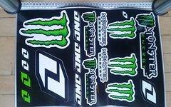One Industries / Monster Energy Monster Energy Aufkleber Sticker Cross Motorrad Auto