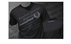 Banshee T-Shirt Splatter Logo / Gr. L