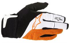 Alpinestars MOAB Gloves White Orange XS