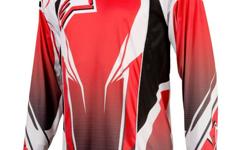 Alpinestars A-Line Long Sleeve Jersey Red/ Black XXL