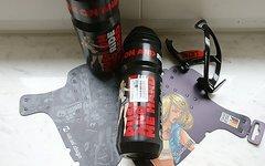 Rie:sel Design schlamm:PE Schutzblech + 2 Trinkflaschen + Elite Pharon