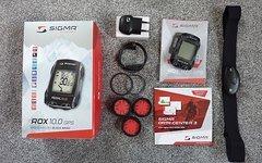 Sigma ROX 10.0 GPS Set (3 Halterung, HF ANT+)