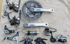 Shimano Deore LX 9-Fach Gruppe inkl. Bremsen