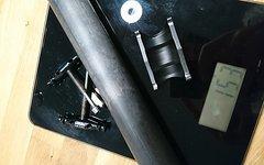 Pop Products Sattelstütze Carbon 30,9mm 425mm