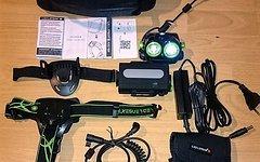 Led Lenser XEO19R Black Green