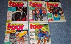 Tour Das Radmagazin Konvolut Jahrgänge 1989 - 1999 insg 71 Hefte