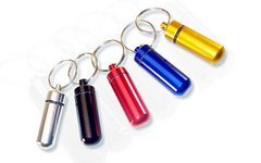 Fbp bunte wasserdichte Mini Bottle Minicontainer Geocoaching Pillenbox