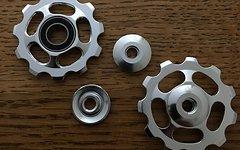 Schalträdchen Universal Aluminium Silber