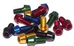 Tuning Pedals M5 x 10, 16, 18, 20, 25, 30 mm Aluminium Schrauben, AL7075, konischer Kopf