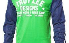 Troy Lee Designs Designs Super Retro Jersey Green/Blue XL