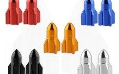 Fbp Parts 2x Ventilkappe Rakete Autoventil Schrader SET