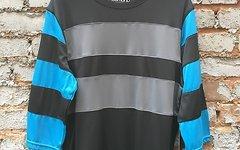 Sombrio Realto Jersey Black Stripe L -NEU!-