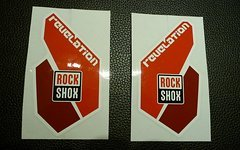 Rock Shox Revelation Decals