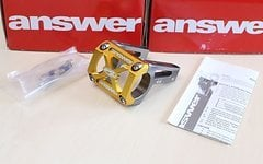 Answer DH One High End Direct Mount Gold *NEU*