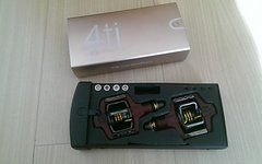 Crankbrothers Candy 4Ti Klickpedale Rot - 201g - UVP 260€ - 4 ti Titan Crank Brothers Pedale