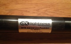 Ax Lightness Poseidon Lenker 580mm, 87,1g, 25,4mm