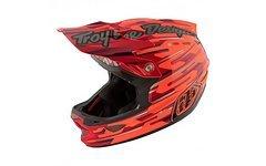 Troy Lee Designs D3 Code Orange Fullface Helm S *NEU*