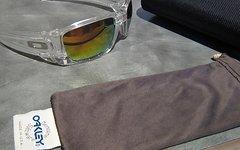 Oakley Fuel Cell - Rahmen clear- Gläser fire iridium -wie Neu!
