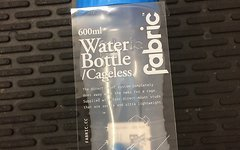 Fabric Water Bottle Cageless 600ml Trinkflasche Blue