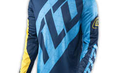 Troy Lee Designs GP JERSEY QUEST BLUE/YELLOW Gr. XL