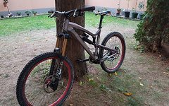 Santa Cruz NOMAD 2 mit Push link, Fox RC4, Size L, Fox 36 Talas RC2 140-180mm