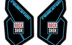 Rock Shox Revelation 2012 Decal/Sticker/Aufkleber-Set