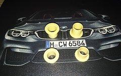 Straitline AMP / DeFacto IGUS-J Gleitlager Satz, Pedal Rebuild Kit